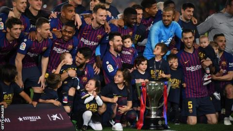 Messi Scores As Barcelona Defeat Levante To Win Laliga For 26 Times
