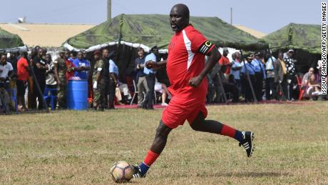 George Weah Foresees Bleak Future For African Sports