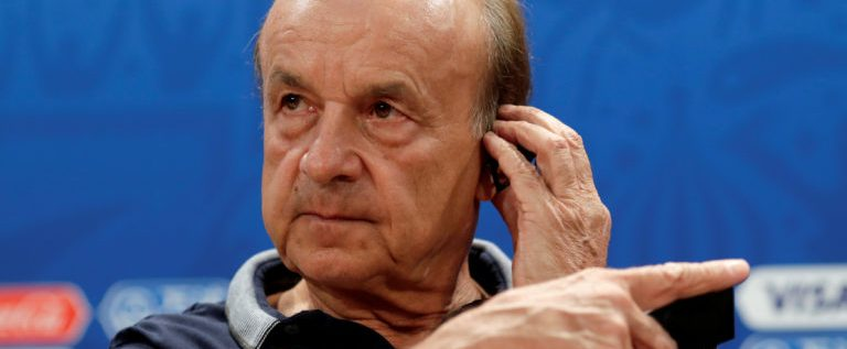 Rohr Arrives Nigeria For Super Eagles AFCON Preparations