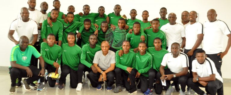 21 Eaglets For U-17 AFCON Finals