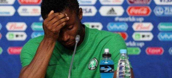 Mikel Gives Condition For Super Eagles Return