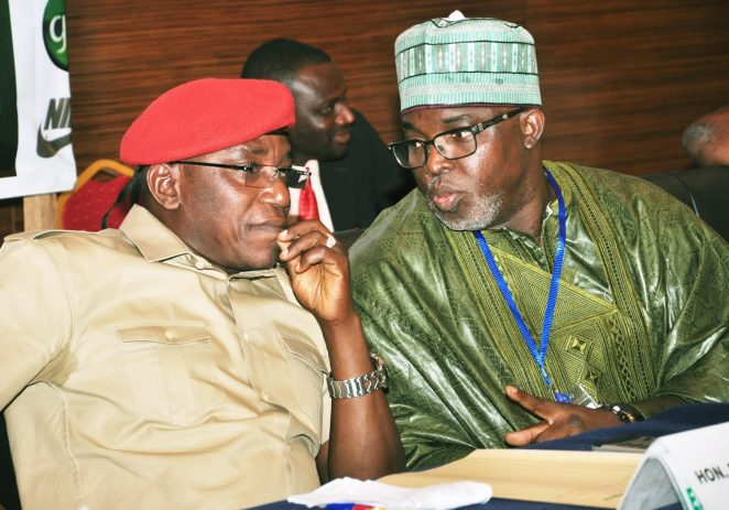 NFF Accuses Former Sports Minister, Solomon Dalung Of Working Against Team Nigeria In Rio 2016 Olympics