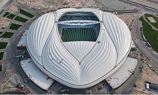 "2022 World Cup ""Vagina Stadium"" Unveiled In Qatar"
