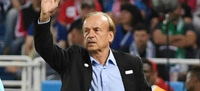 REVEALED: NFF Owing Gernot Rohr Four Months' Salary Since January