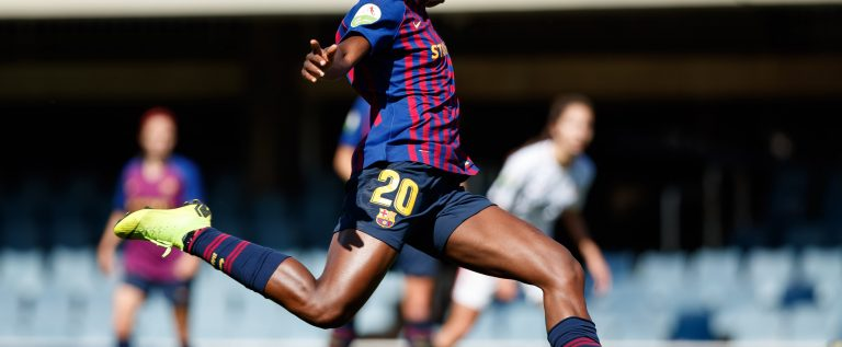 Oshoala Makes History Despite Barcelona's Champions League Final Lose