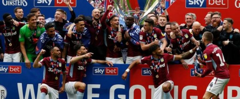 Aston Villa Promoted EPL After Playoff Final Win