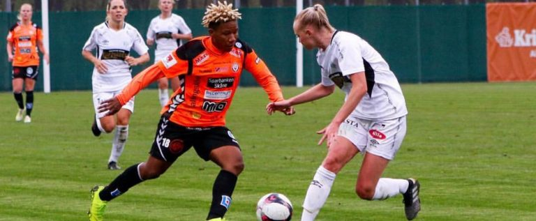 Rita Chikwelu Eyes Another Goal In Swedish League