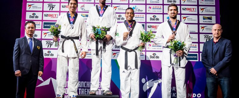 Africa Country Missing On Medals Podium as World Taekwondo Champions Ends In Manchester