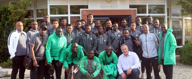 FIFA U-20 world Cup: Nigerian Poland Ambassador Visits Flying Eagles
