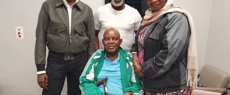 Otedola Visits 'Chairman' Chukwu In London