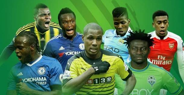 REPORT: Nigeria Is The 10th Exporter Of Footballers In The World, 1st In Africa
