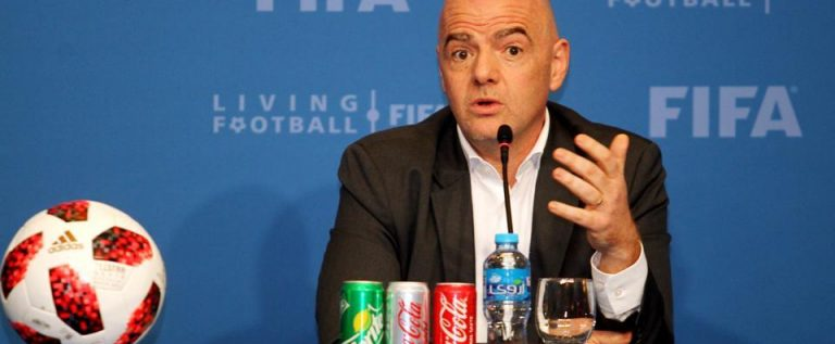 France President, Infantino Booed At FIFA Women's W/Cup Final