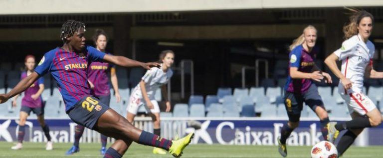 Oshoala Secures  Barcelona Three-year Permanent Deal