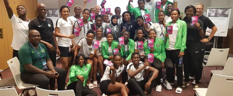 FIFA WWC: Dalung Commends Falcons On Korea Victory