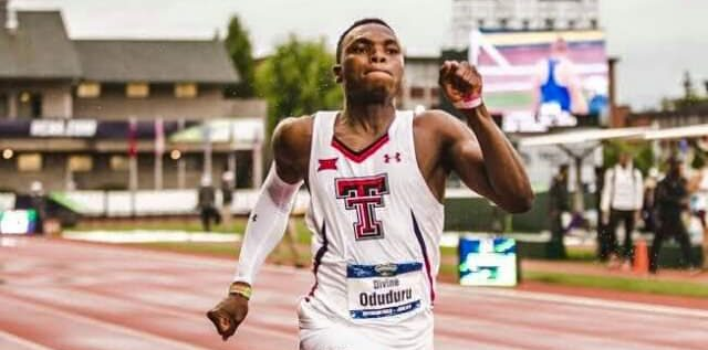 Oduduru Blasts To 100m, 200m Double At NCAA Championships