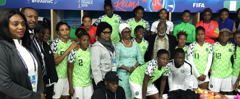 France Women's World Cup: President Buhari Congratulates Super Falcons On Korea Win