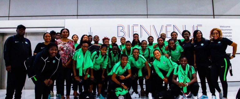 FIFA Women's World Cup, Super Falcons Arrive France