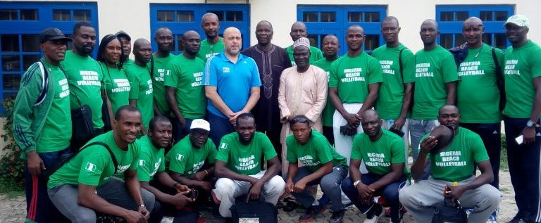 NVF Holds Five-day Beach Volleyball Training For Coaches