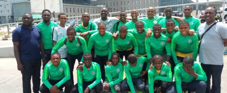 Japan Invitational: Future Eagles Arrive Abuja