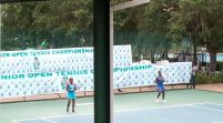 Babalola, Dickson Advance To 2nd Round   CBN Senior Tennis Open Championship
