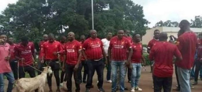 Nsukka Liverpool Fans Celebrate Champions League Win With A Goat