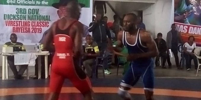 NWF Chairman Expresses Confidence For Olympic Medals As Nigerian Wrestlers Hit Camp