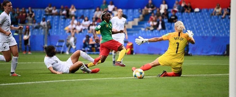 FIFA Women's World Cup: Cameroon Win New Zealand To Reach Last 16