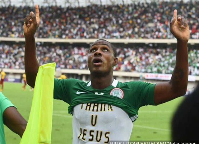 Odion Ighalo Describes Manchester United Move As A Dream Come True