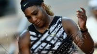 US Open: Serena Williams routs Maria Sharapova