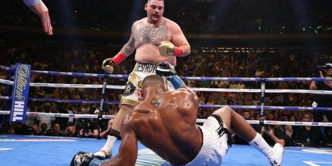 Anthony  Joshua Suffers Shock First Defeat, Lose Three Titles