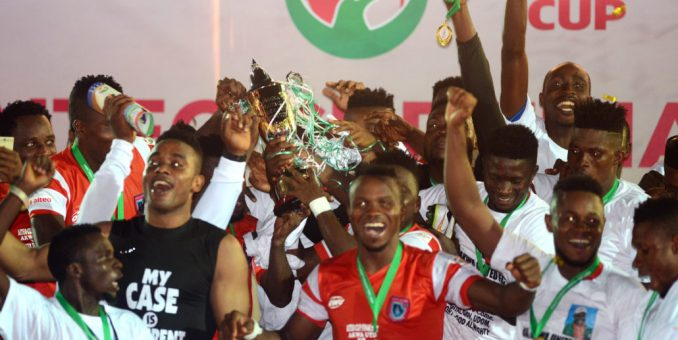 N70 Million Aiteo Cup Promise: Ex Akwa United Players Insist On Payment, No Deal