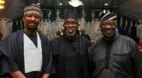 Finally, Pinnick, Dikko, Akinwunmi, Sanusi Appear In Court Over Alleged NFF Corruption Charges