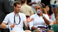 Murray & Serena win Wimbledon mixed doubles Opener