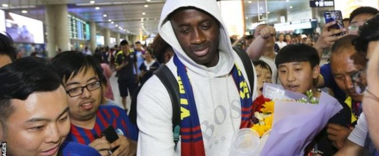 Yaya Toure signs for Chinese second tier club, Qingdao Huanghai