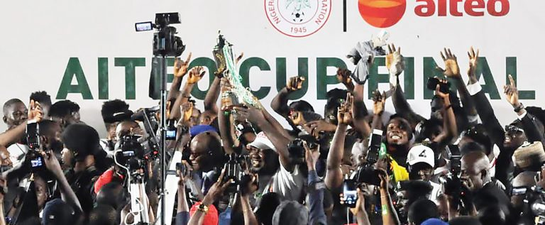 How Kano Pillars Beat Tornadoes To Break 29 years Aiteo Cup Trophy Jinx