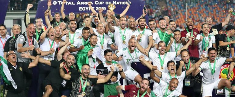 Algeria Defeat Senegal To Win Africa Cup Of Nations Twice