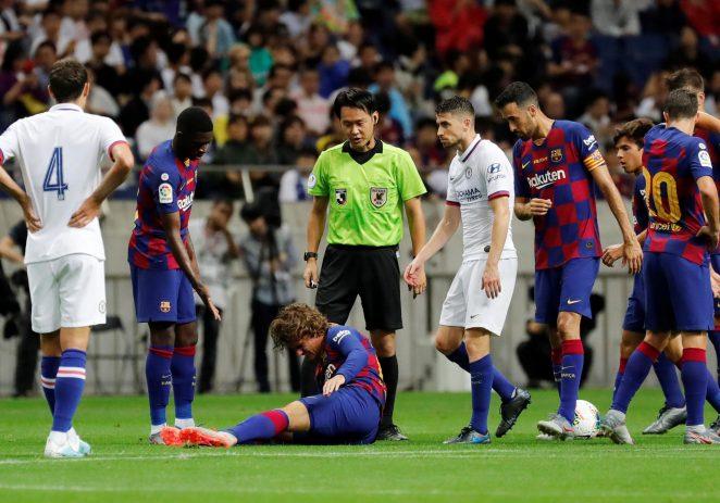Lampard Masterminds Barcelona Fall AS Chelsea End Preseason On High