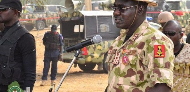 Buratai emphasises Importance Of Golf To Nigeria Army