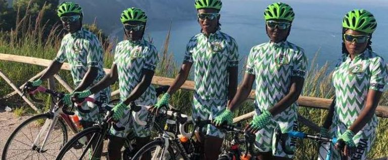 Team Nigeria lead Africa Track Cycling Championship in Abuja