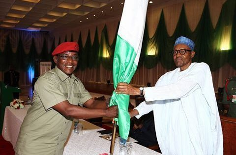 Dalung Thanks President Buhari On AFCON Delegation … Promises To Cheer Super Eagles To Victory