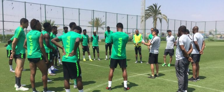 Fireworks In Cairo As Super Eagles, Bafana Bafana Light Up Egypt