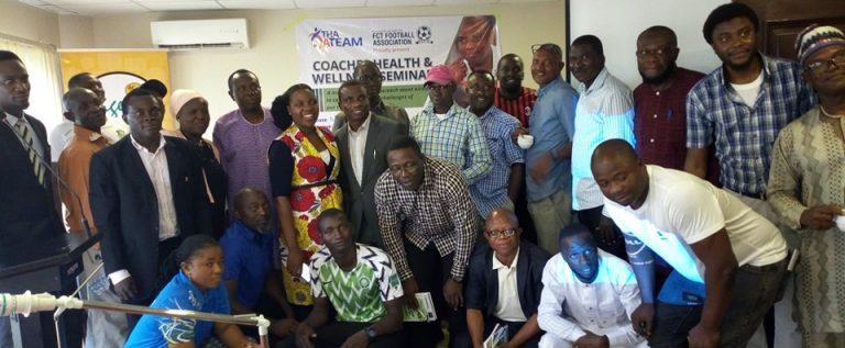 A Team/FCT FA Hold Health Awareness Seminar For Coaches