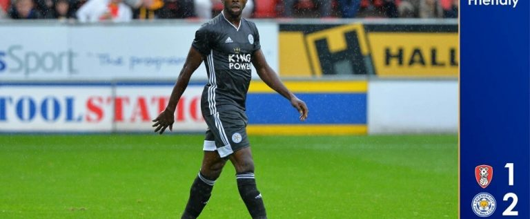 Iheanacho Bags Brace In Leicester City Friendly