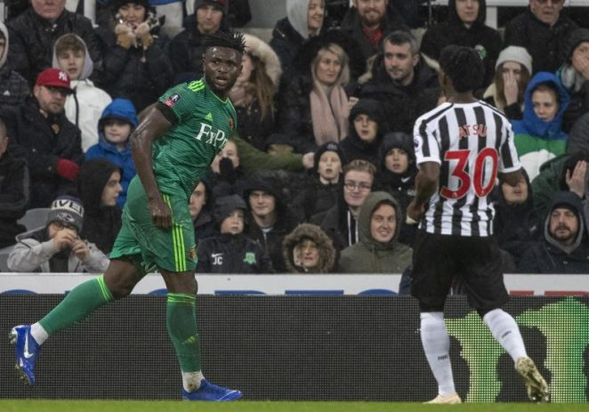 Isaac Success Ruled Out Of Watford's Clash Against Tottenham