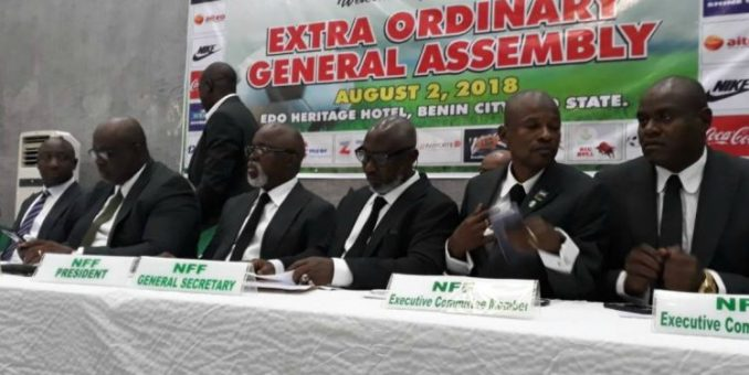 NFF Reform Committee Meets 10 Months After Inauguration
