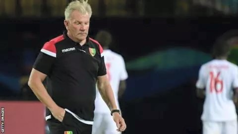 Guinea Sack Put After AFCON Poor Showing