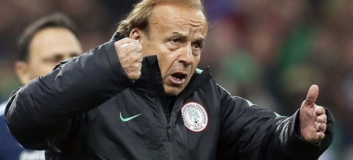 Rohr Insists He Has Not Been Paid For Three Months