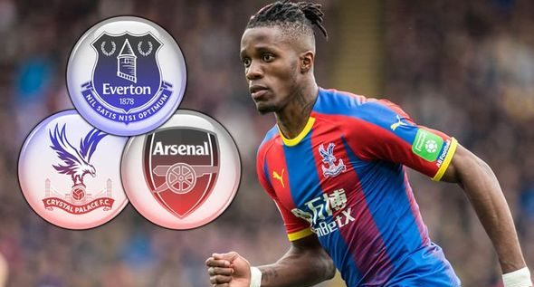 Wilfred Zaha Sacks Agent Over Failed Arsenal Move