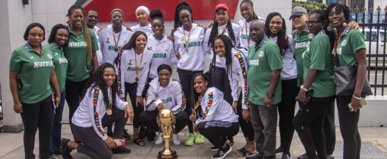 Okowa Congratulates D'Tigress, Long Jump Queen
