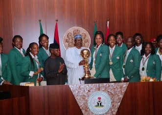President Buhari Lauds D'Tigress For 2020 Olympic Qualification